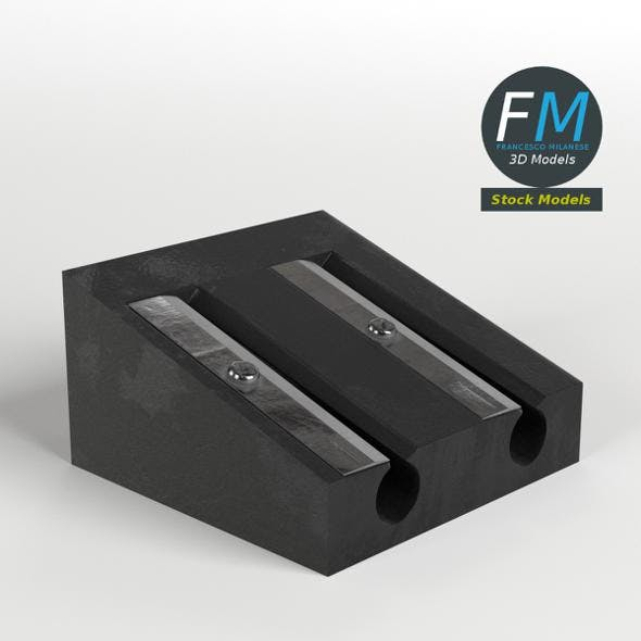 Pencil sharpener - 3DOcean Item for Sale