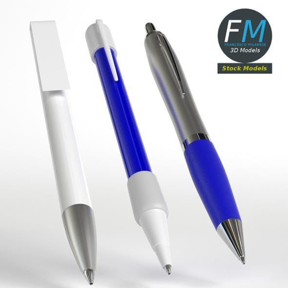 Pens - 3DOcean Item for Sale