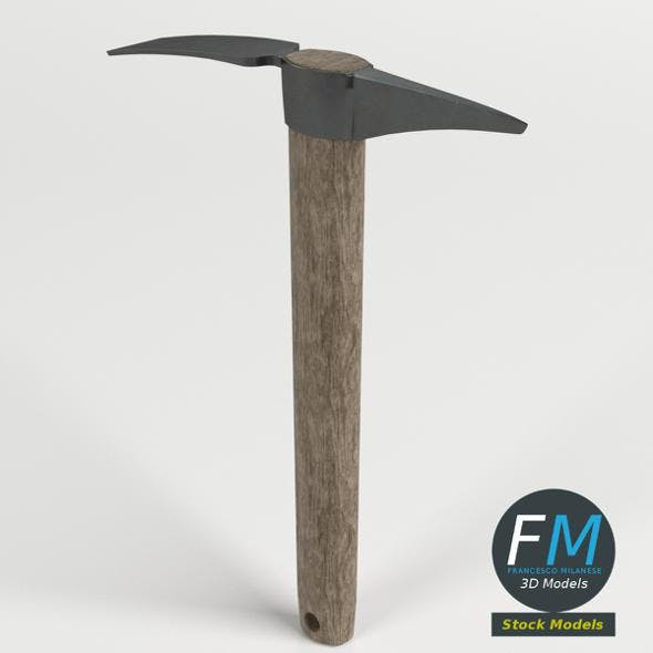Pick mattock ax - 3DOcean Item for Sale