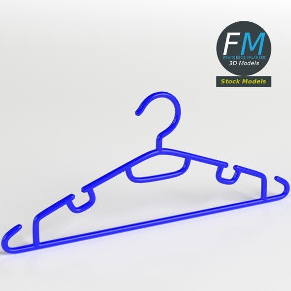 Plastic coat hanger 2 - 3DOcean Item for Sale