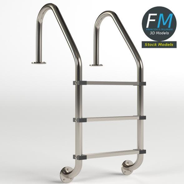 Pool ladder 1 - 3DOcean Item for Sale