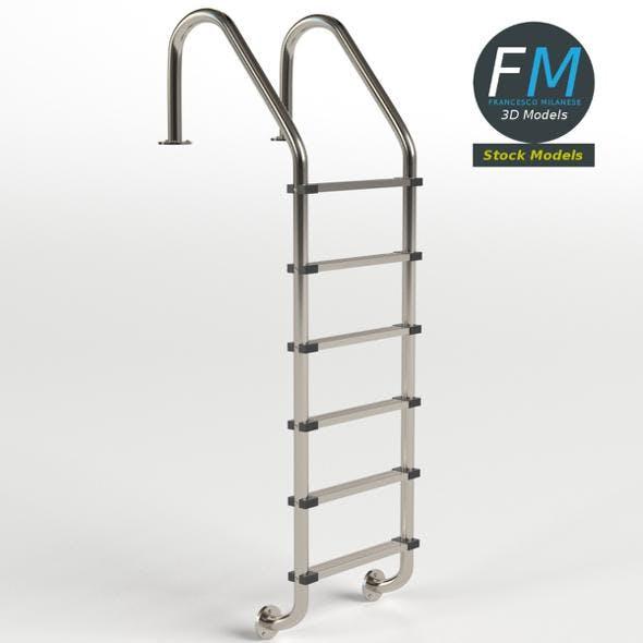 Pool ladder 2 - 3DOcean Item for Sale