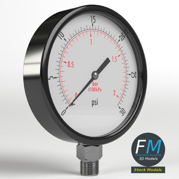 Pressure gauge - 3DOcean Item for Sale