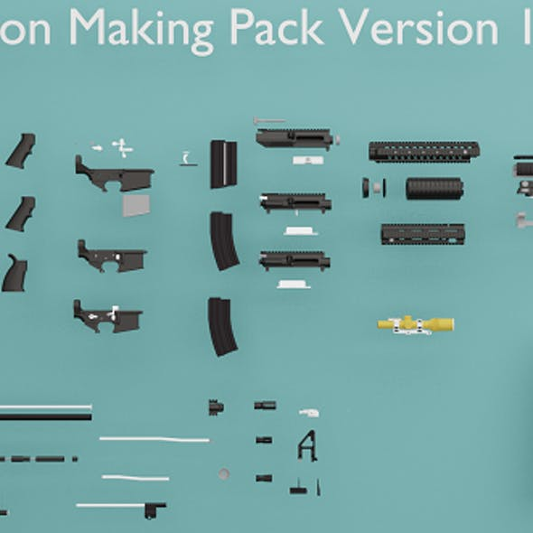 WEAPON SET AND MAKİNG PACK