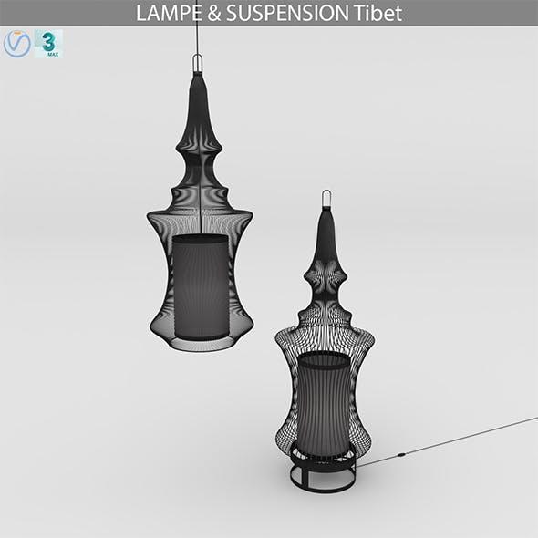 LAMPE & SUSPENSION TIBET