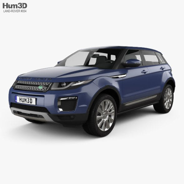 Land-Rover Range Rover Evoque SE 5-door 2015 - 3DOcean Item for Sale