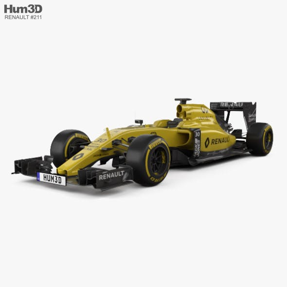 Renault R.S.16 2016 - 3DOcean Item for Sale