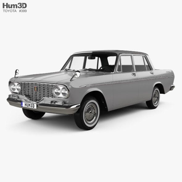 Toyota Crown 1962 - 3DOcean Item for Sale