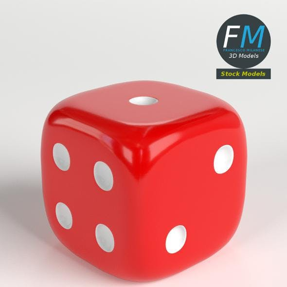 Rounded dice - 3DOcean Item for Sale