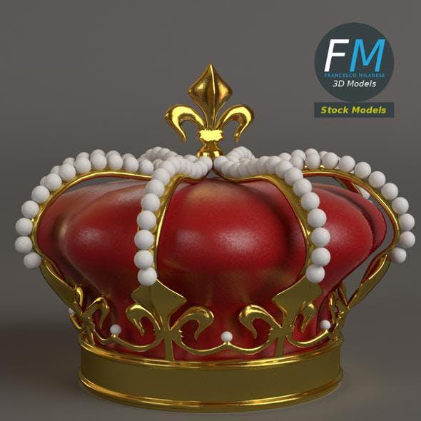 Royal crown - 3DOcean Item for Sale