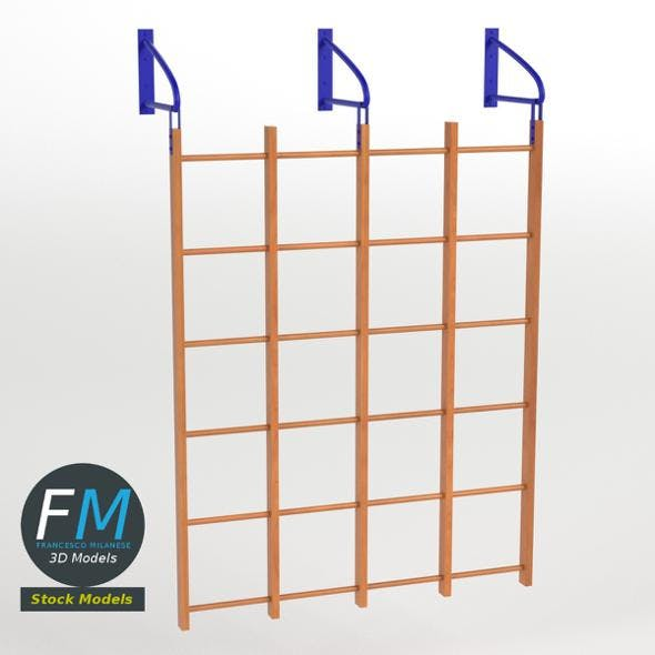 Runged wall bars - 3DOcean Item for Sale