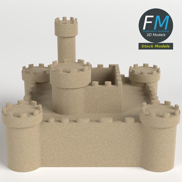Sand castle 2 - 3DOcean Item for Sale