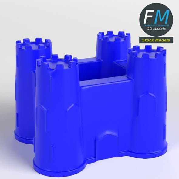 Sand castle bucket - 3DOcean Item for Sale