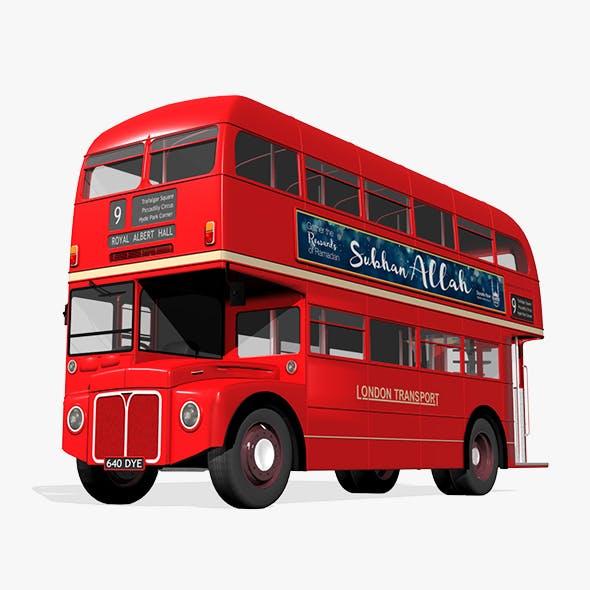 London Bus - 3DOcean Item for Sale