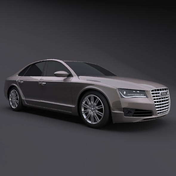 Audi A8 restyled