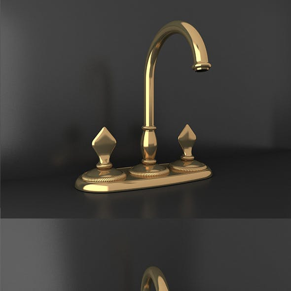 Ottoman Style gold material tap_03