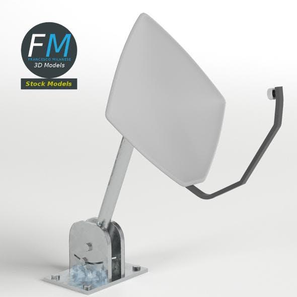 Satellite dish 2 - 3DOcean Item for Sale