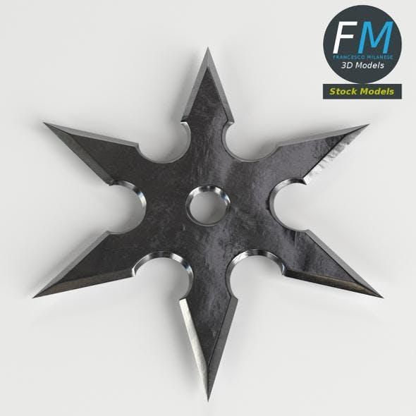 Shuriken ninja star - 3DOcean Item for Sale