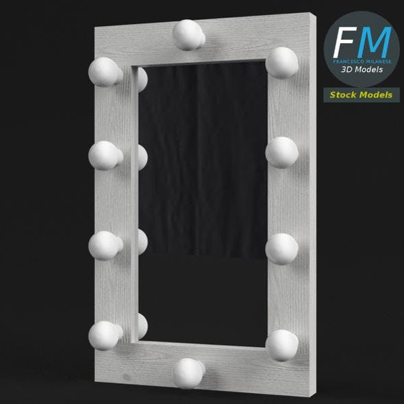 Simple make-up mirror - 3DOcean Item for Sale