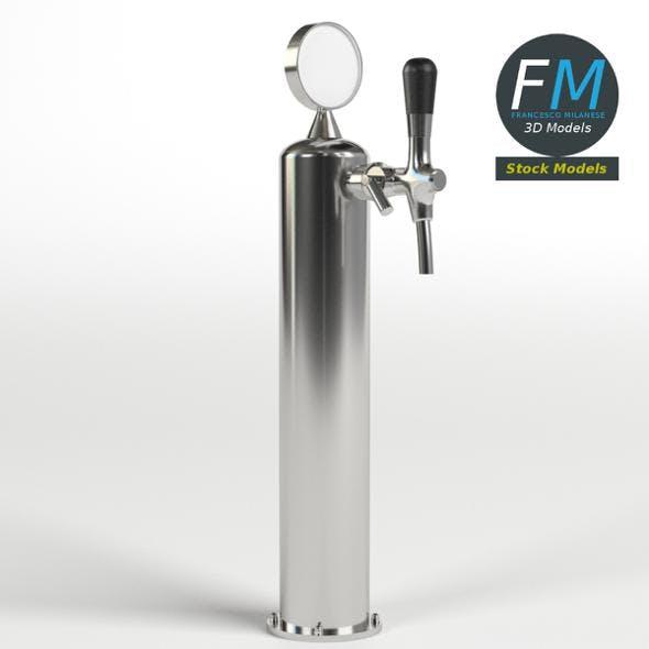 Single beer tap