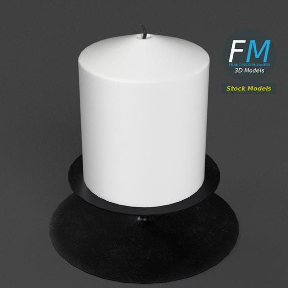 Small Candle - 3DOcean Item for Sale