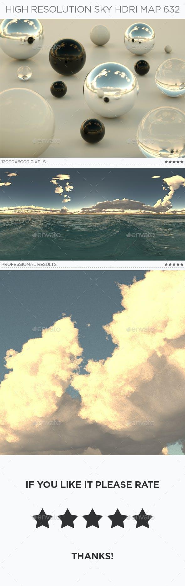 High Resolution Sky HDRi Map 632 - 3DOcean Item for Sale