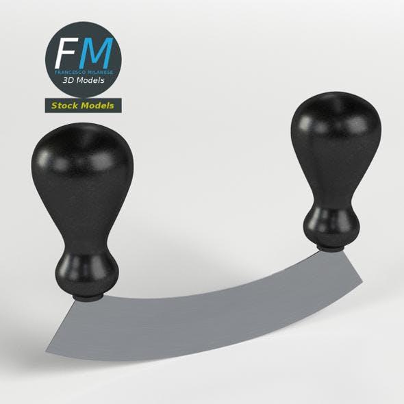 Mincing knife - 3DOcean Item for Sale