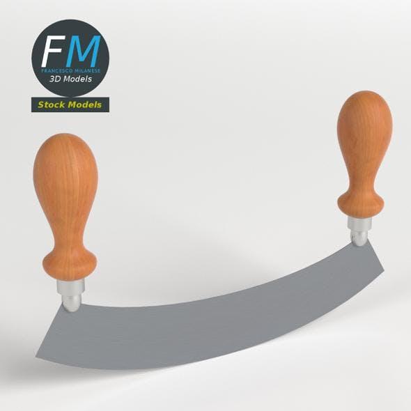 Long mincing knife - 3DOcean Item for Sale