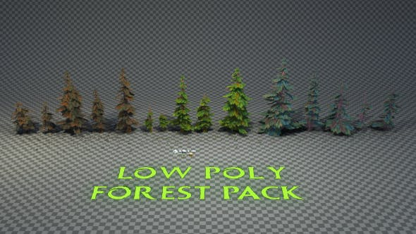 Forest Pack - 3DOcean Item for Sale
