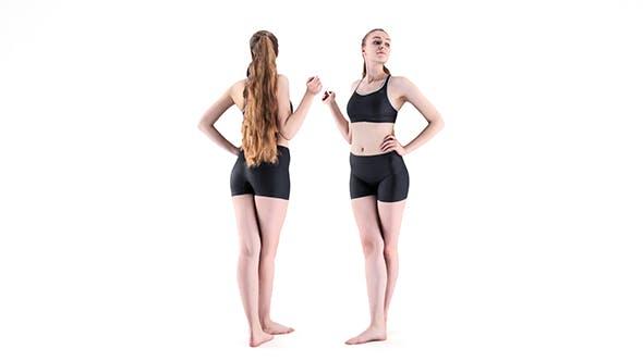 Female sport 23 - 3DOcean Item for Sale