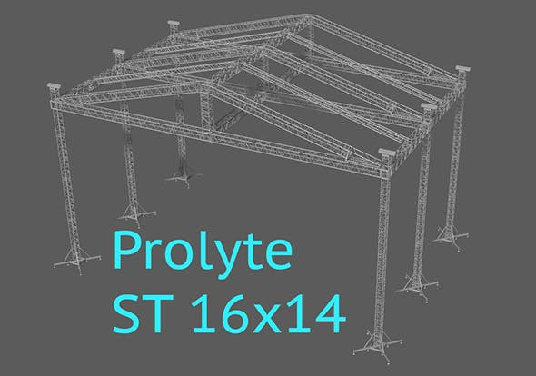 Prolyte ST 16x14 roof - 3DOcean Item for Sale