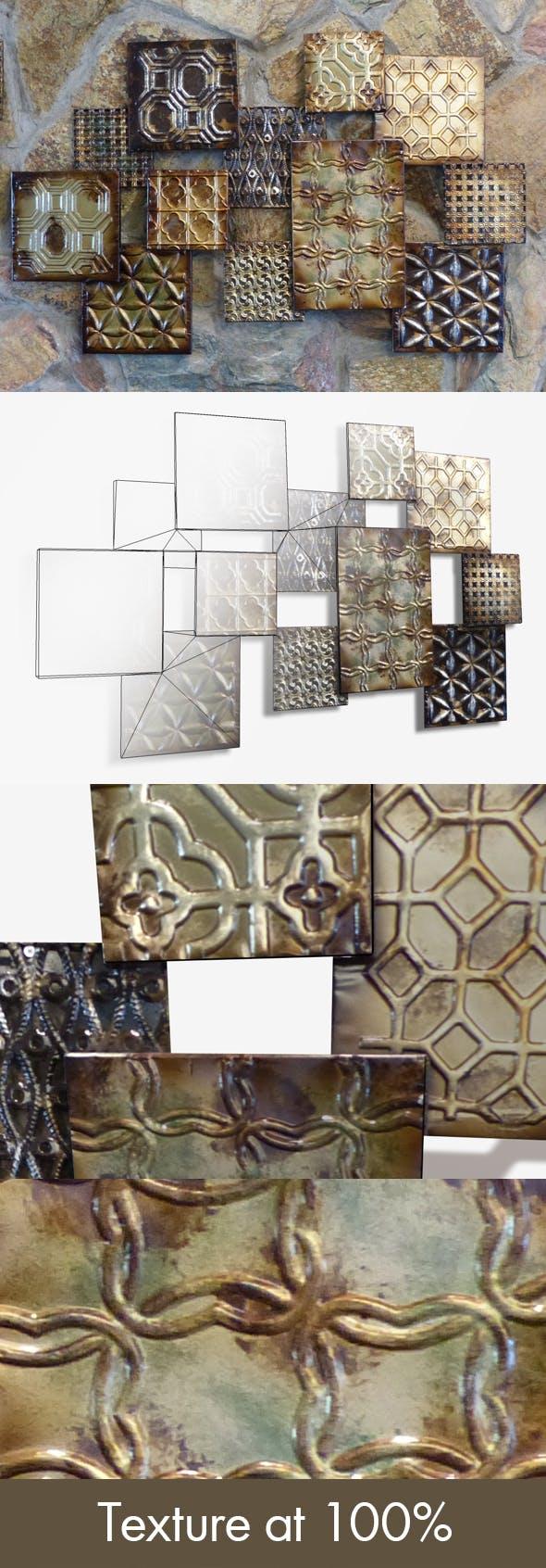 Modern Wall Art - 3DOcean Item for Sale