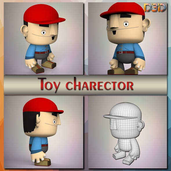 Toy charector