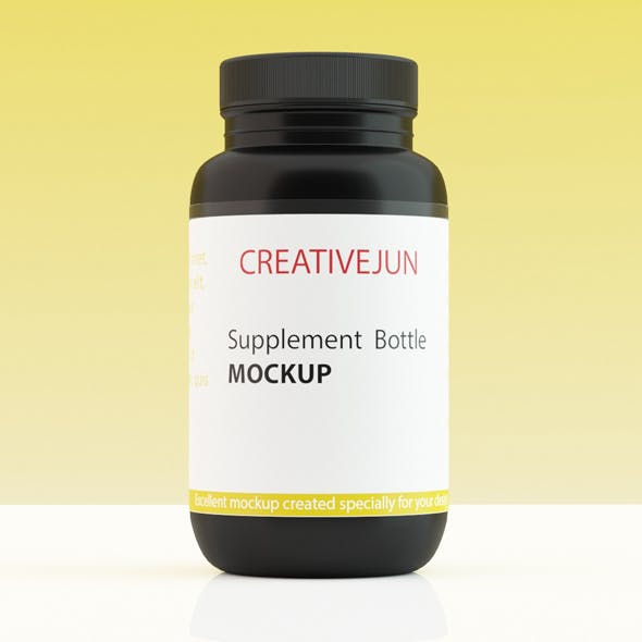 Supplement Bottle