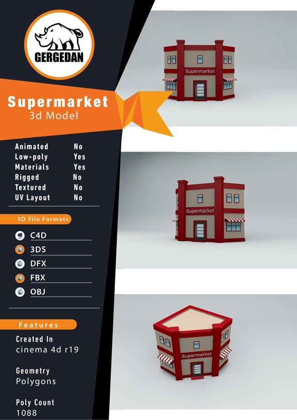 Supermarket - 3DOcean Item for Sale