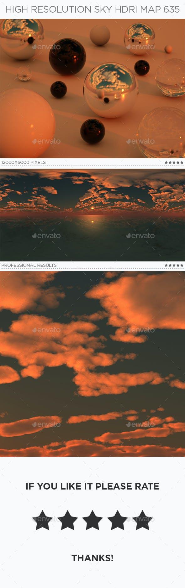 High Resolution Sky HDRi Map 635 - 3DOcean Item for Sale