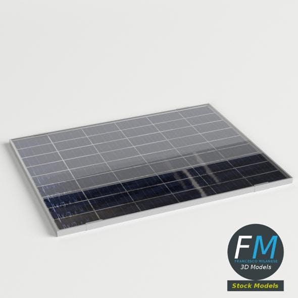 Solar panel module - 3DOcean Item for Sale