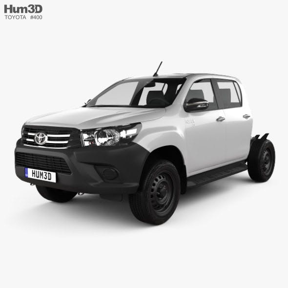 Toyota Hilux Double Cab Chassis 2015