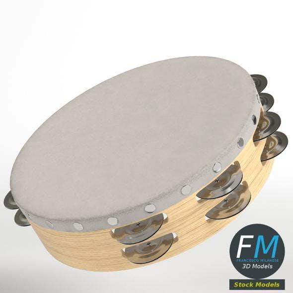 Tambourine - 3DOcean Item for Sale