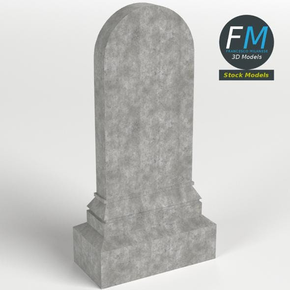 Tombstone 2 - 3DOcean Item for Sale