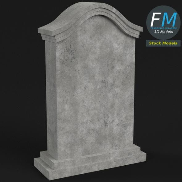 Tombstone 3 - 3DOcean Item for Sale