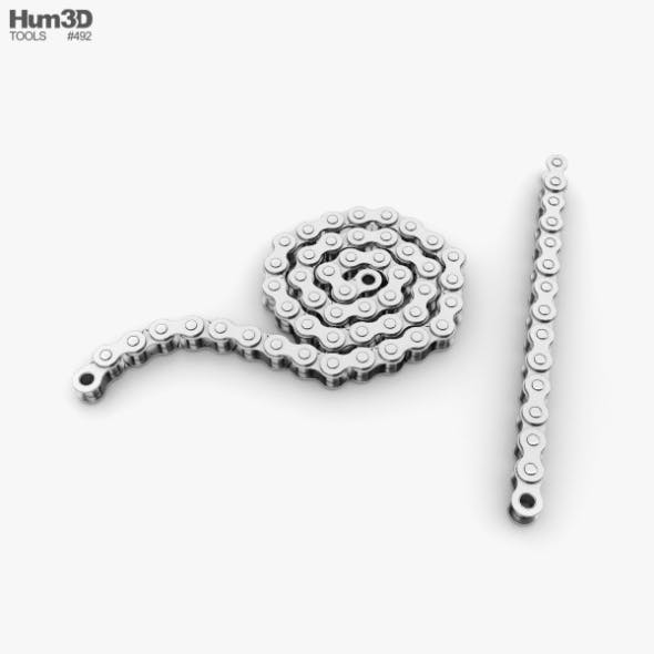 Roller Chain - 3DOcean Item for Sale