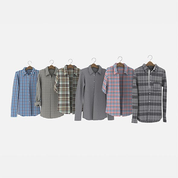 Shirt on Hanger - 3DOcean Item for Sale