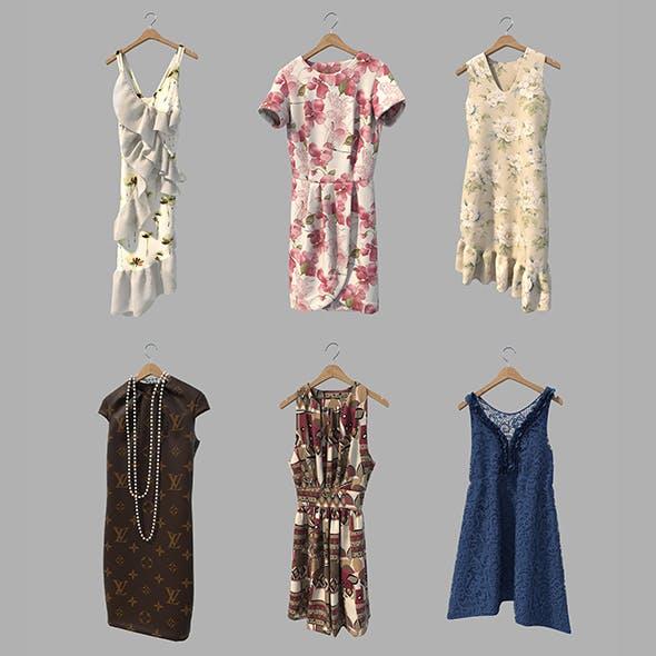 Dress on Hanger 2 - 3DOcean Item for Sale