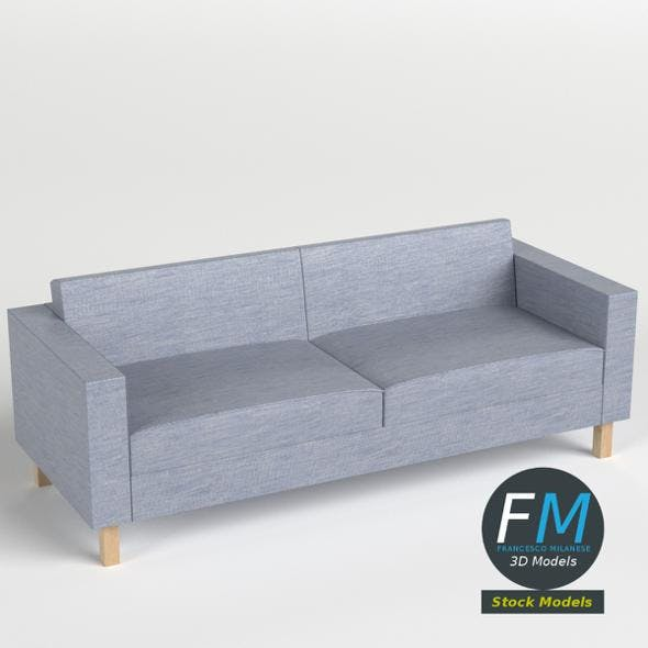 Two seater sofa - 3DOcean Item for Sale