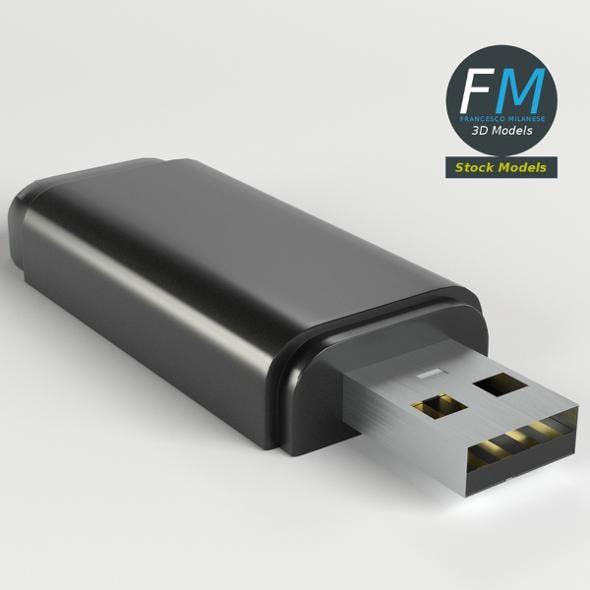 USB pen drive - 3DOcean Item for Sale