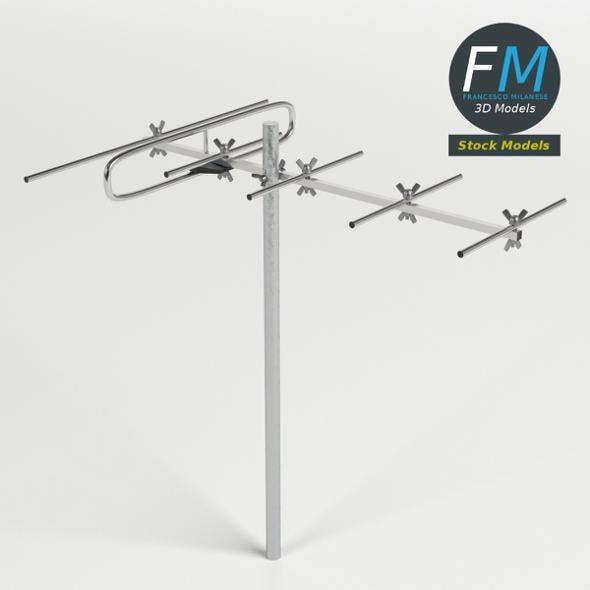 VHF antenna - 3DOcean Item for Sale