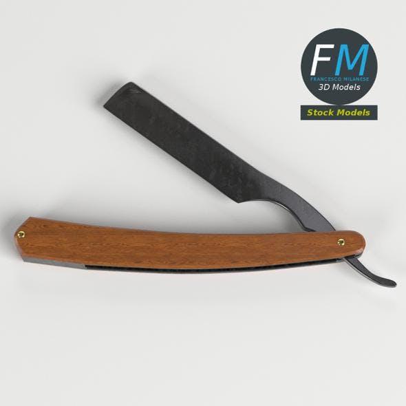 Vintage straight razor - 3DOcean Item for Sale