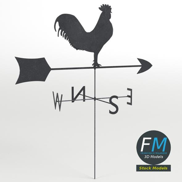 Weather vane - 3DOcean Item for Sale