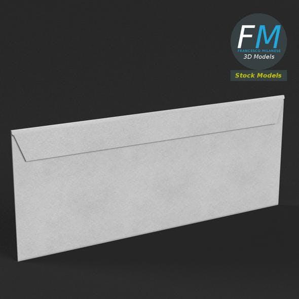 White envelope - 3DOcean Item for Sale
